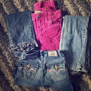 Size 5 jean bottoms bundle